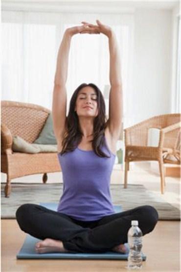 Yoga yaparak stresten ve kilolardan kurtulun